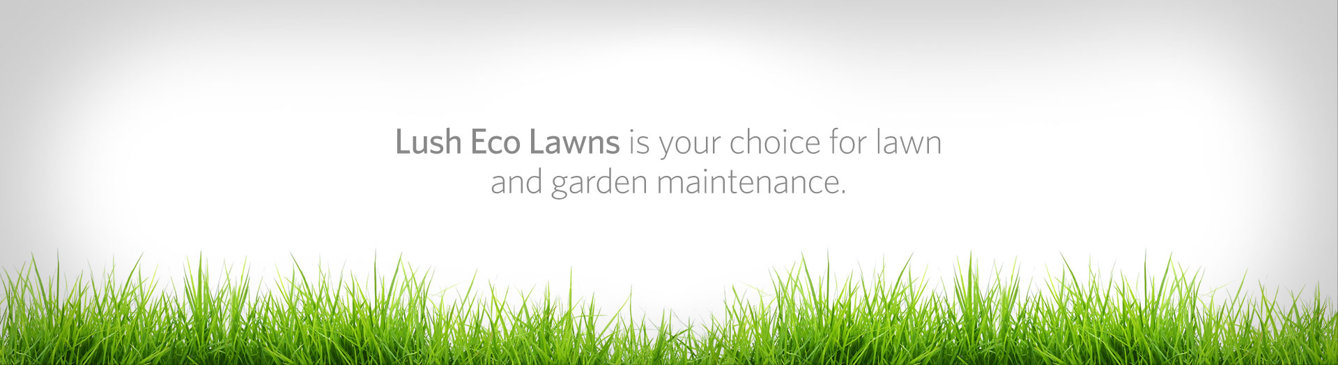 Lush Eco Lawns | We are a full service lawn care, gardening